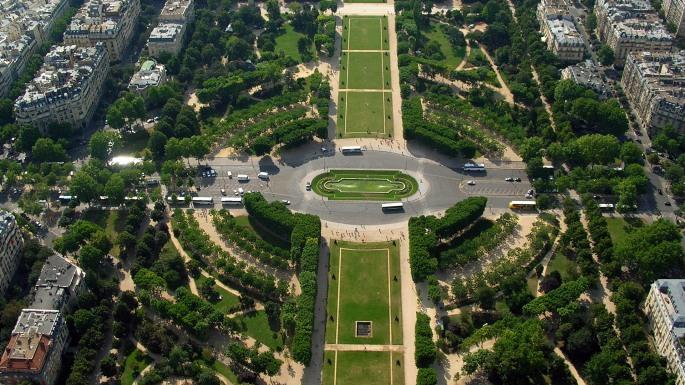 Trocadero Garden