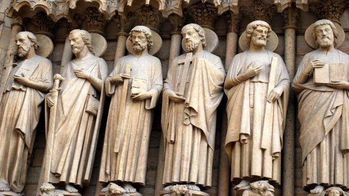 Sculptures of Notre Dame